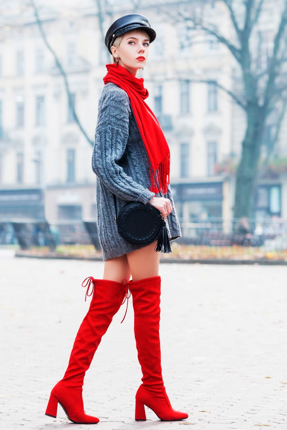 Outfit Ideas With Over The Knee Boots