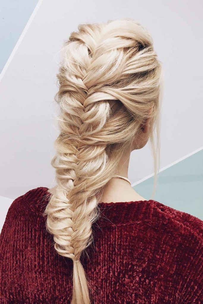 Fishtale Hairstyle For Christmas