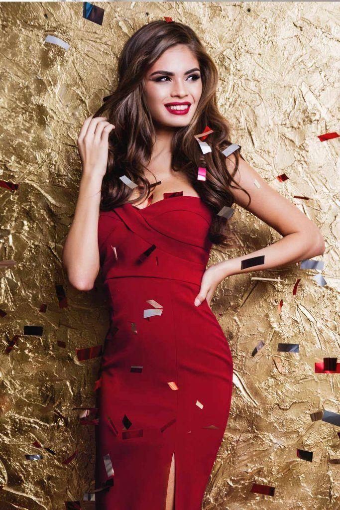 Short Red Christmas Dress