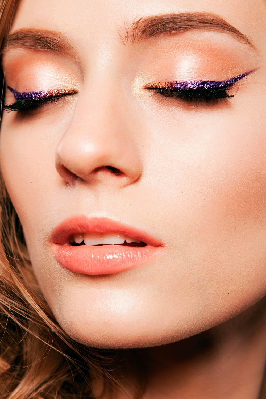 Festive Makeup Ideas with Eyeliner