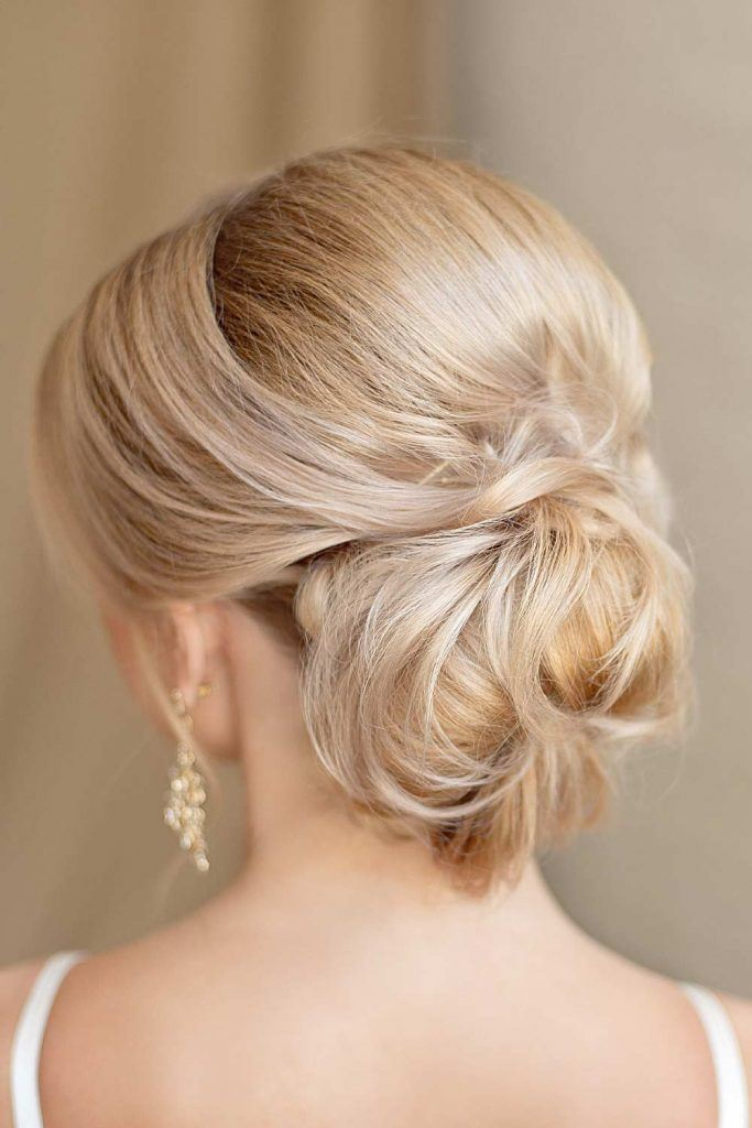 Christmas Hairstyle with Low Bun