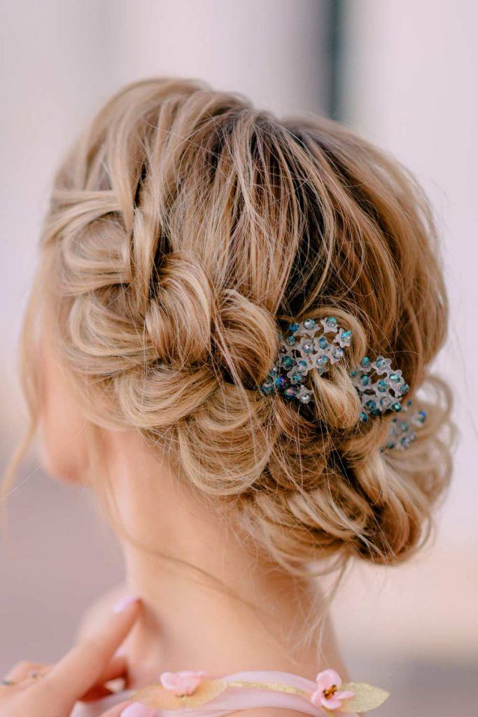 Christmas Braided Updo
