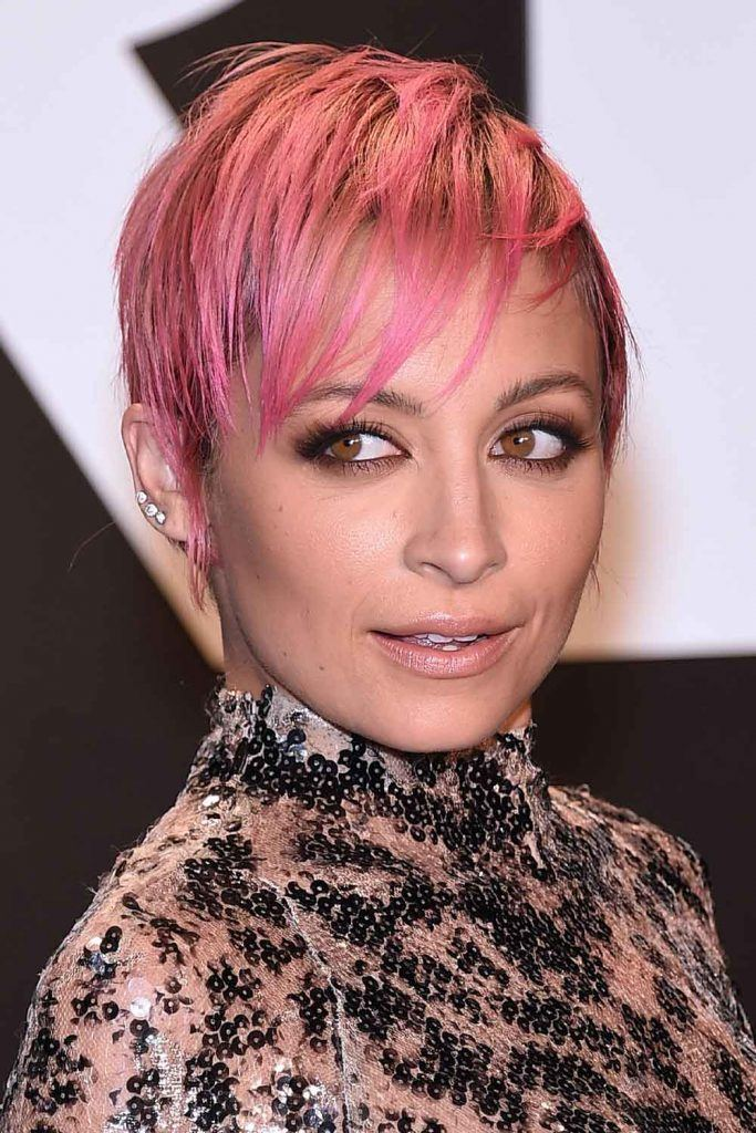 Nicole Richie with Pink Pixie