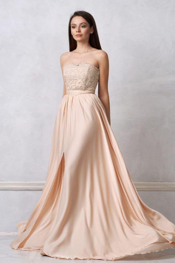 Off the Shoulder Guest Wedding Dress