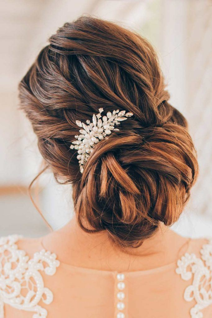 Beautiful Rose Hairstyle for Wedding Day