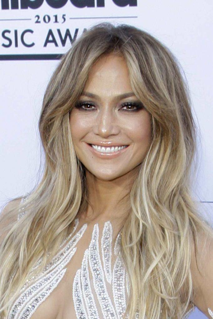 Jennifer Lopez with Balayage Layers