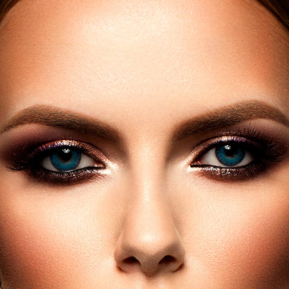 Downturned and Upturned Eye Makeup