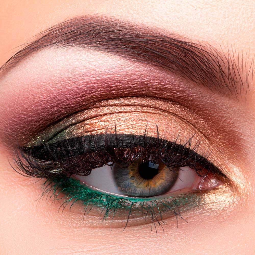 Makeup for Downturned and Upturned Eye Shapes