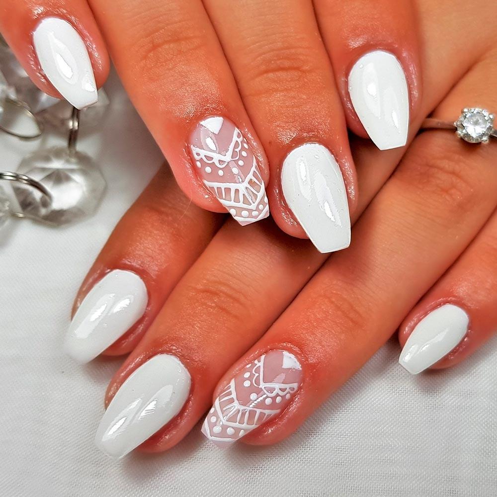 Enchanting Mandala Nail Design