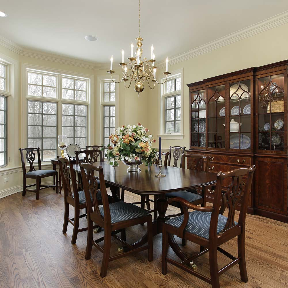 Big Vintage Dining Room
