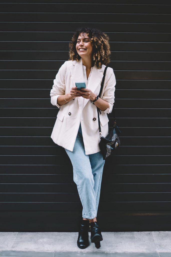 Work Outfits with Boyfriend Jeans