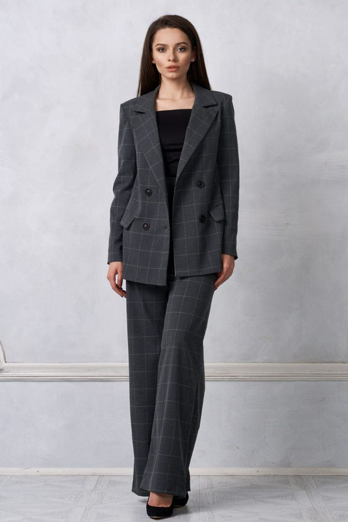 Grey Colored Work Suit