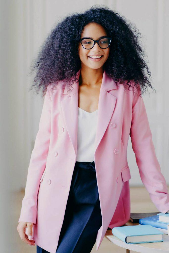 Pink Blazer Work Outfits