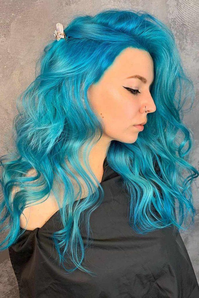 Atomic Turquoise Manic Panic Hair Dye