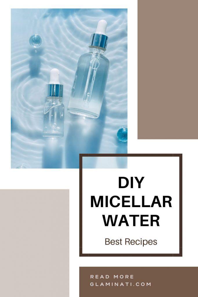 Homemade Rose Micellar Water Recipe