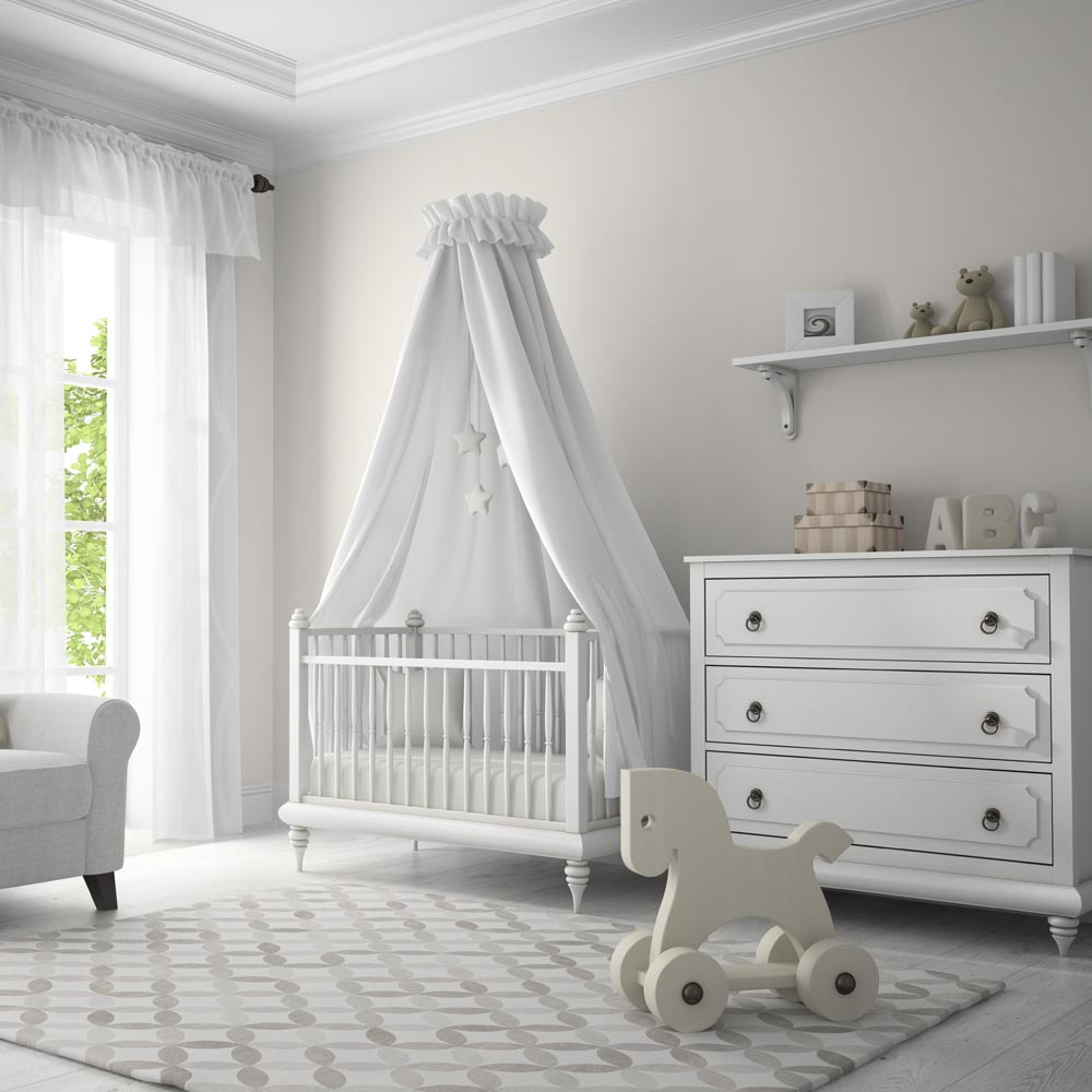 White Colored Nursery