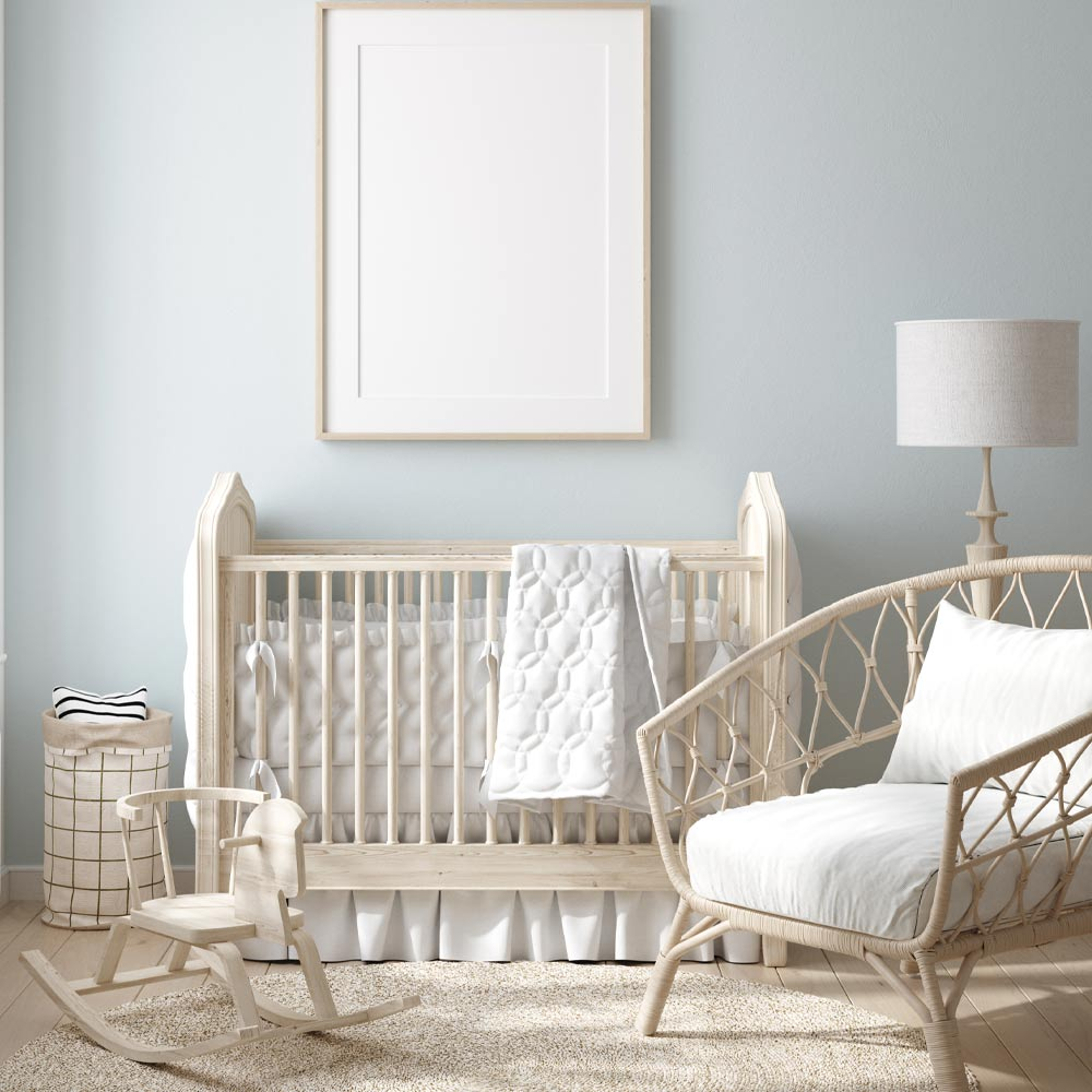Nursery Idea with Rustic Accent