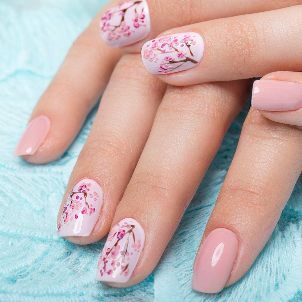 Cherry Bloom Nails