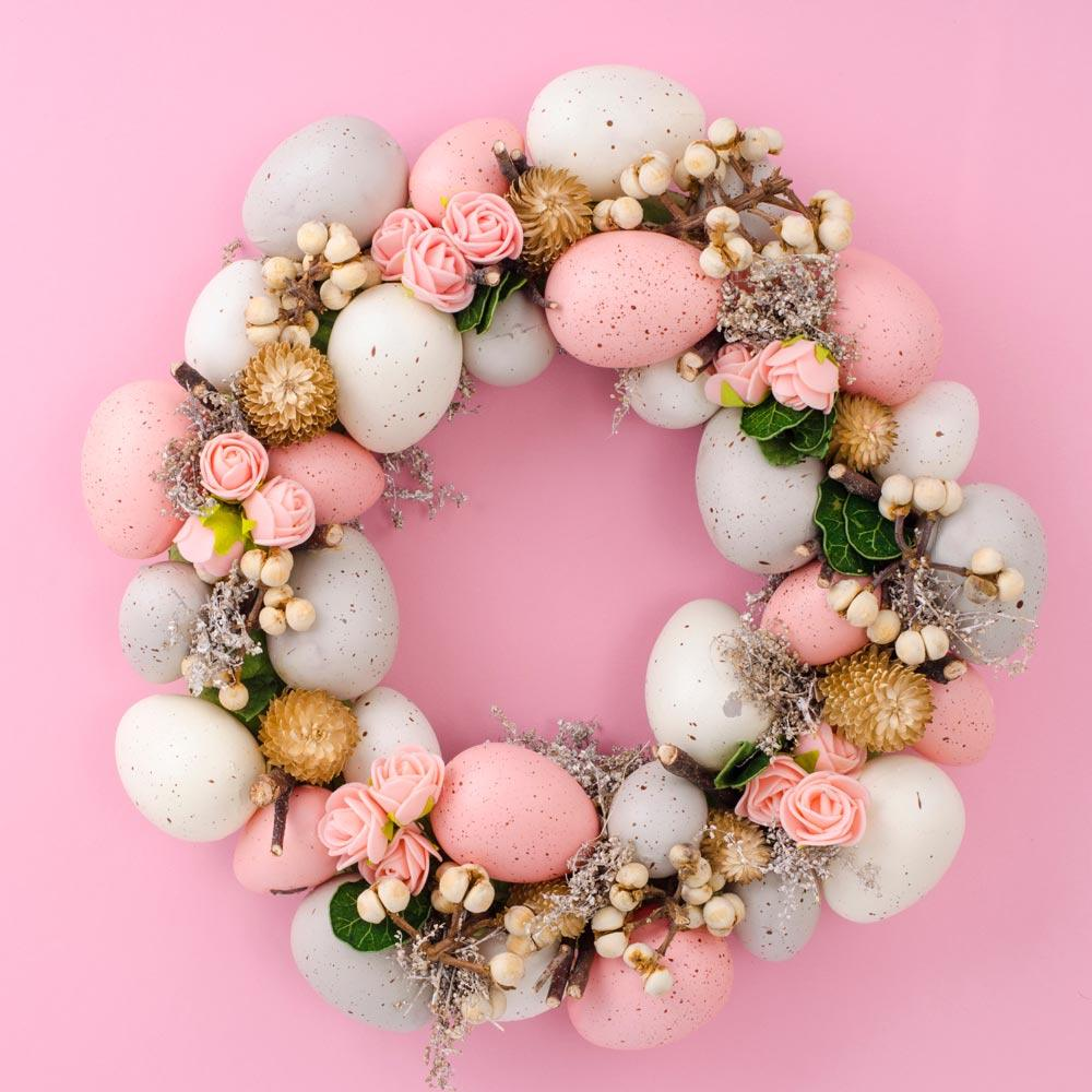 Cute Easter Door Wreath