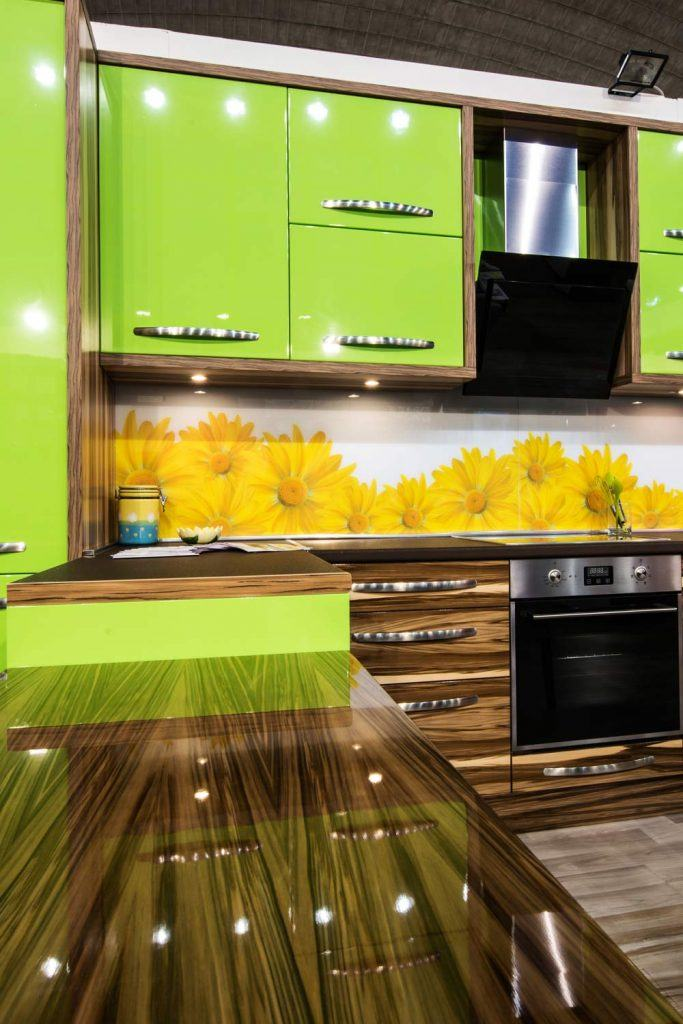 Bright Kitchen Design