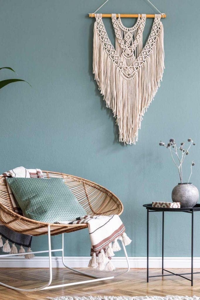 Boho Wall Decoration Idea