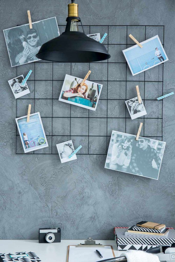 Wall Decoration with Photo Board
