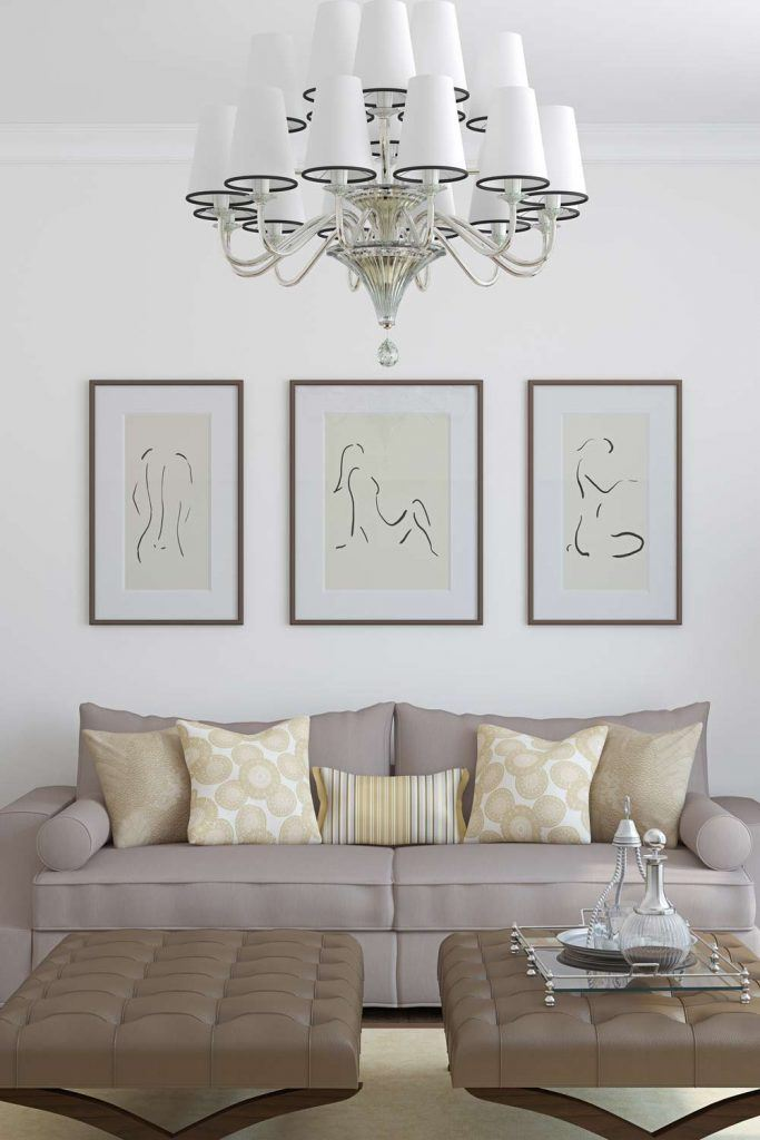 Minimalist Silhouette Pictures Decor
