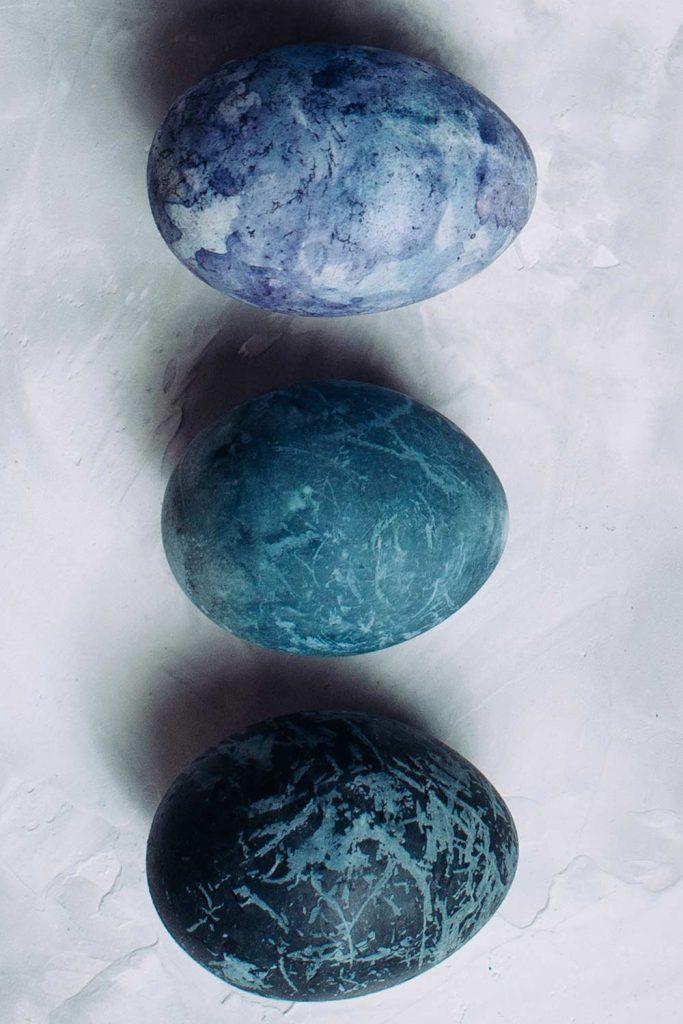 Blue Shades Easter Eggs