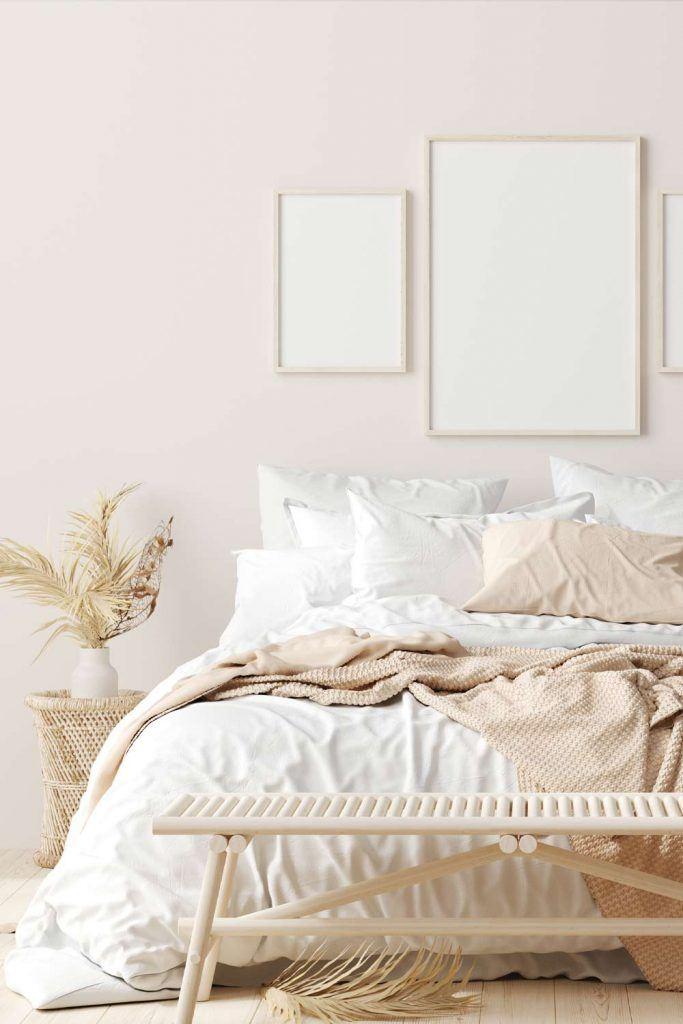 Light Rustic Bedroom Design
