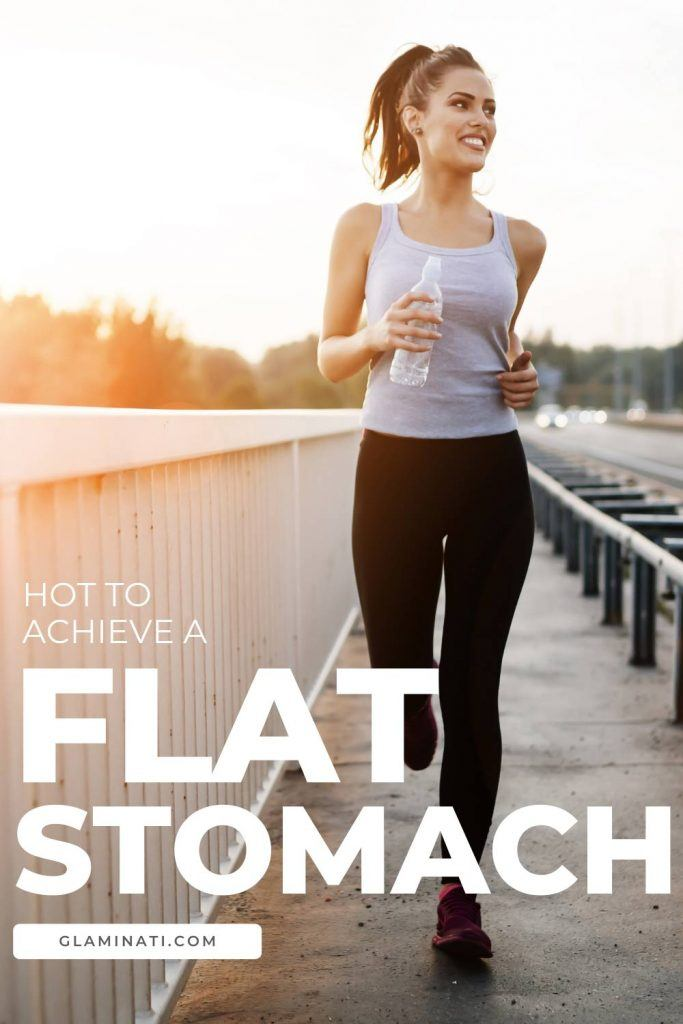How to Achieve a Flat Stomach?