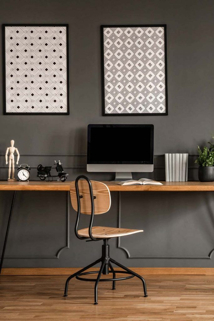 Modern Study Room Idea