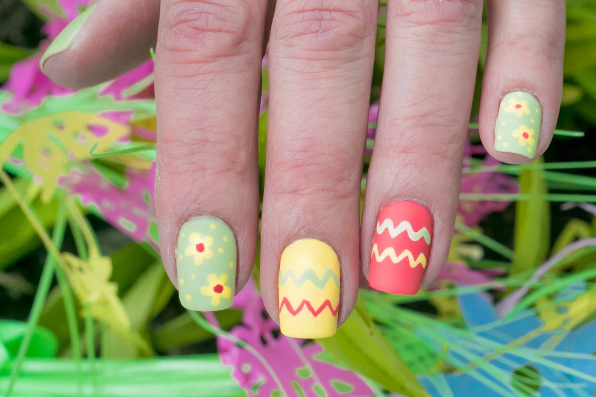 Inspiring Easter Nails Designs