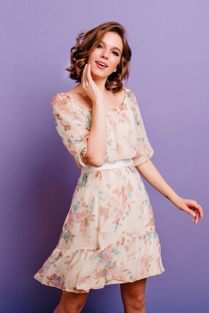 Cute Floral Dress for Summer