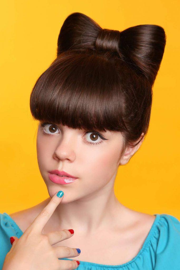 Cute Bow Hairstyle Tutorial