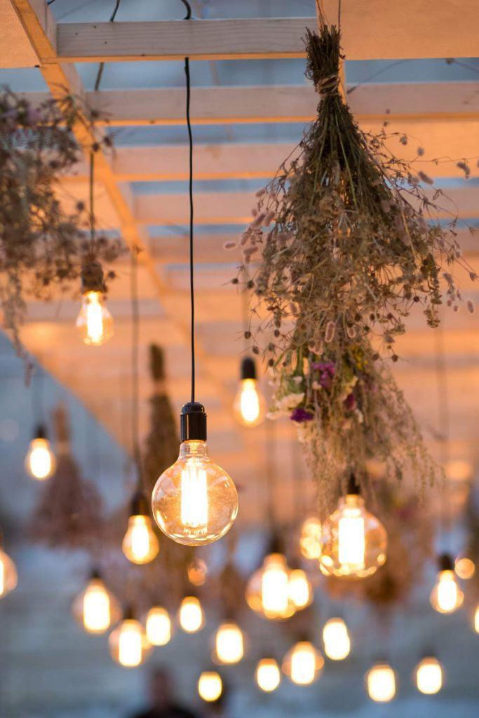 Edison Lamp Decor Idea
