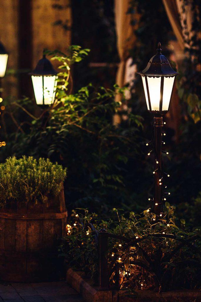 Lantern Outdoor Decoration