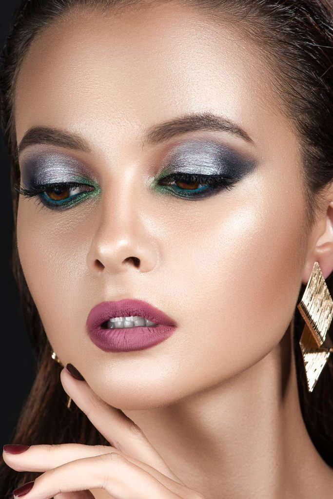 Metallic Makeup Design