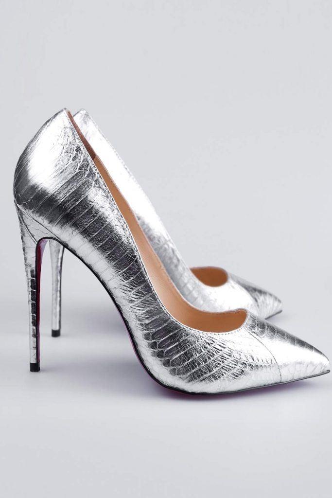 Classy Silver Cones for Prom Night