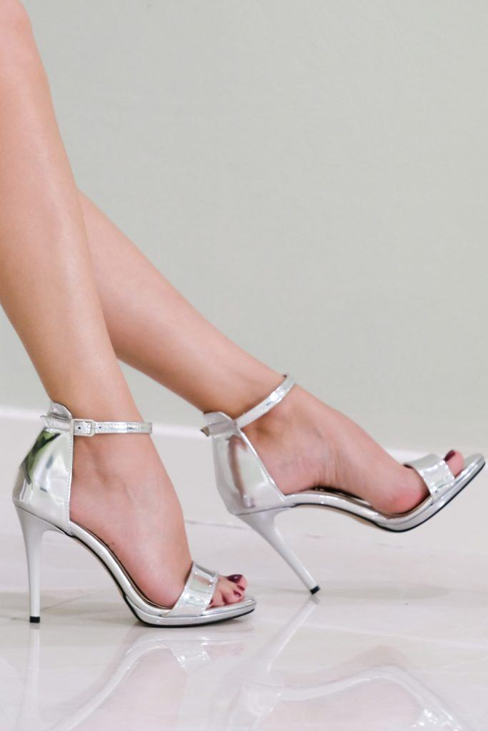 Silver Sandals for Prom