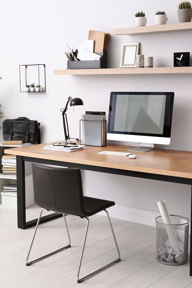 Modern Style Home Office