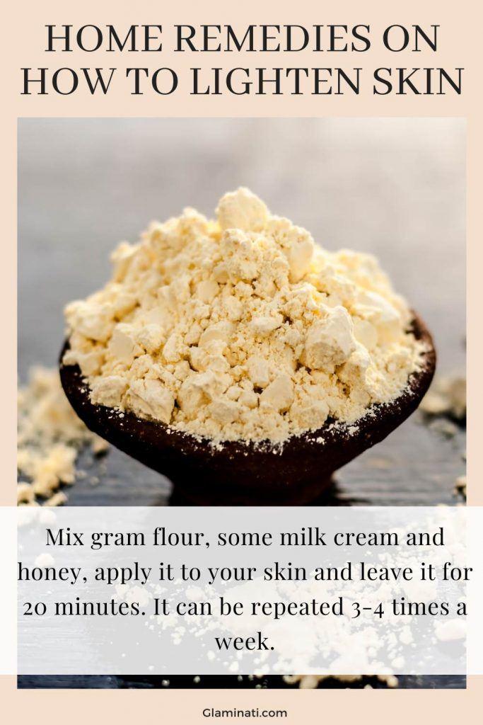 Gram Flour Mask To Lighten Skin