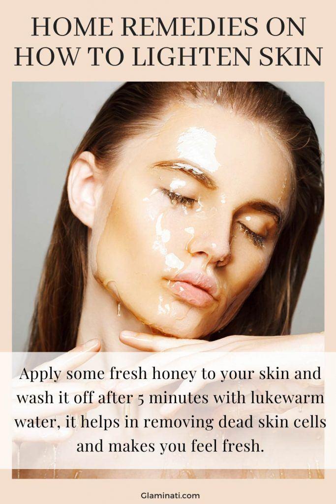Honey Mask To Lighten Skin