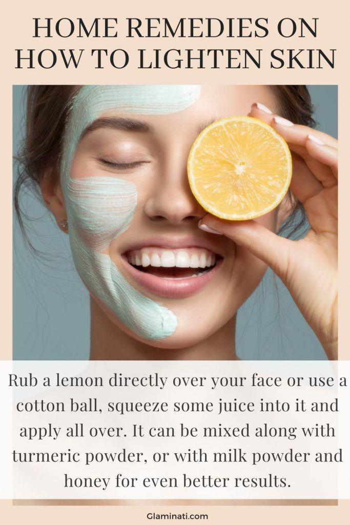 Lemon Mask To Lighten Skin