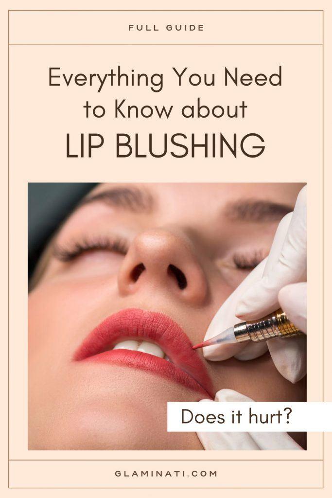 Does Lip Blushing Hurt?
