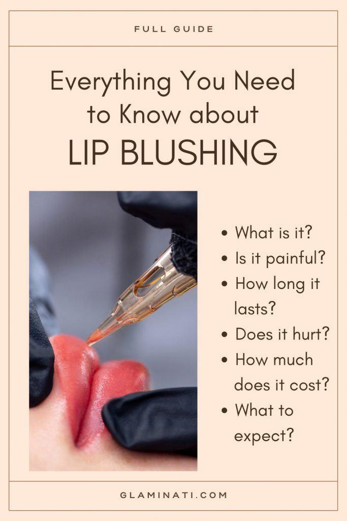 Lip Blushing Guide