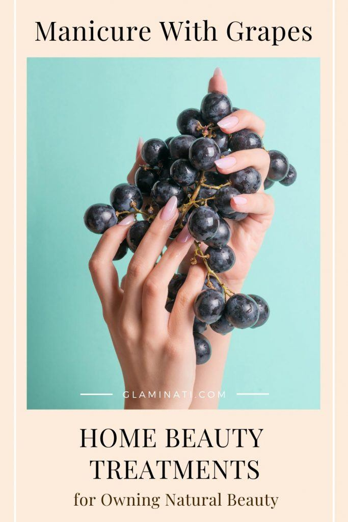 Manicure With Grapes