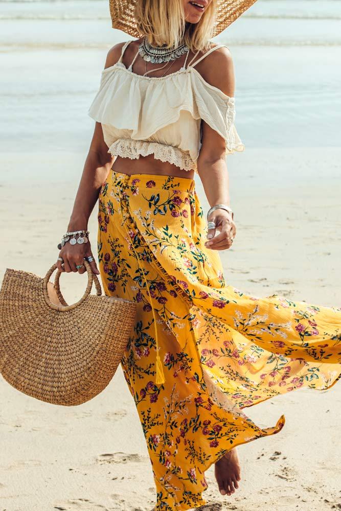 Boho Summer Outfits Idea
