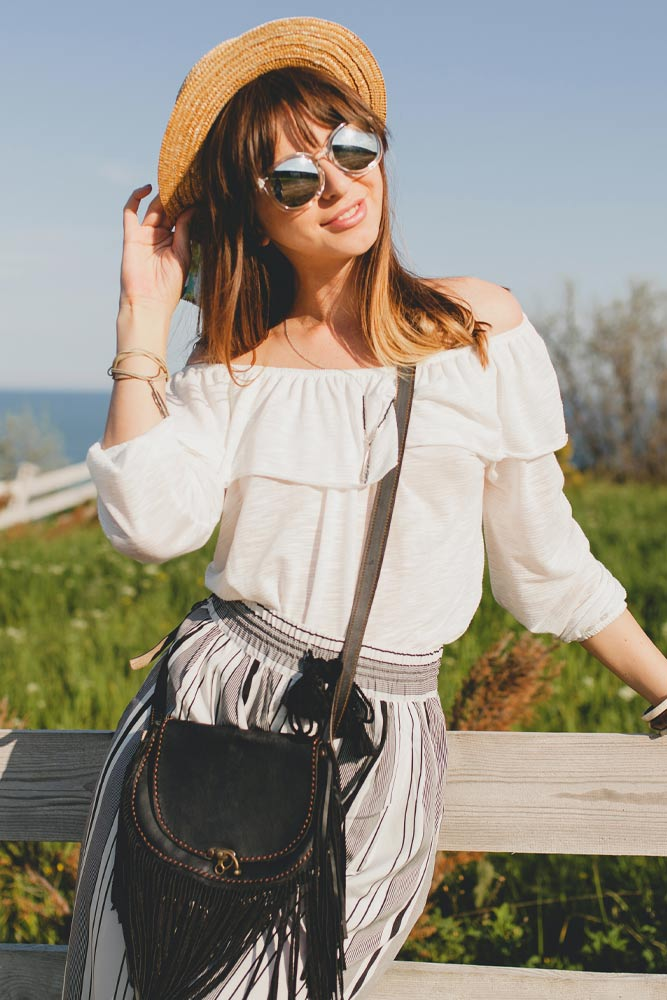Summer Outfits with Off the Shoulder Top