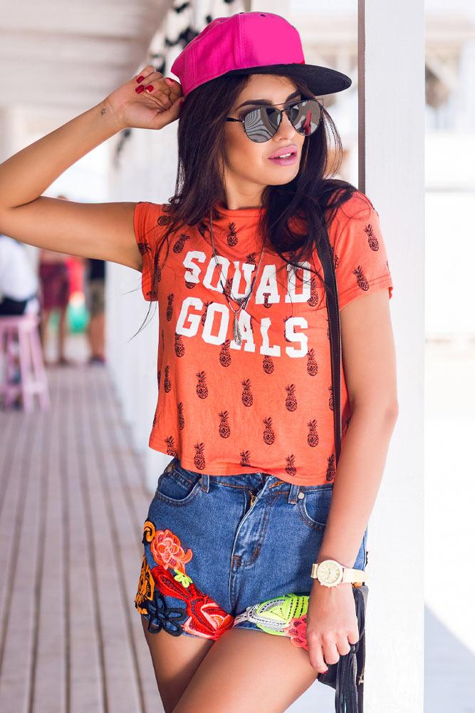 Stylish Outfits with Denim Jacket and Cap