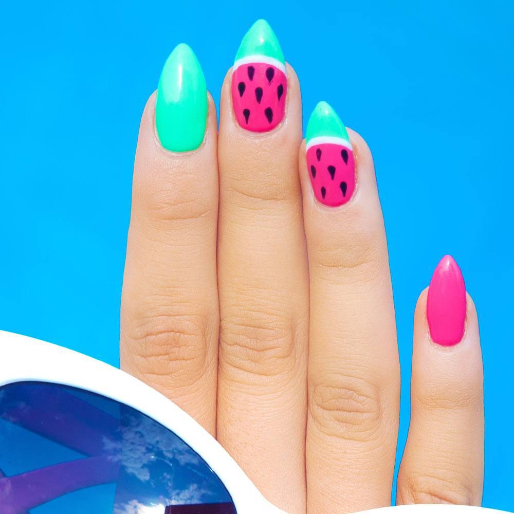 Watermelon Nails Design